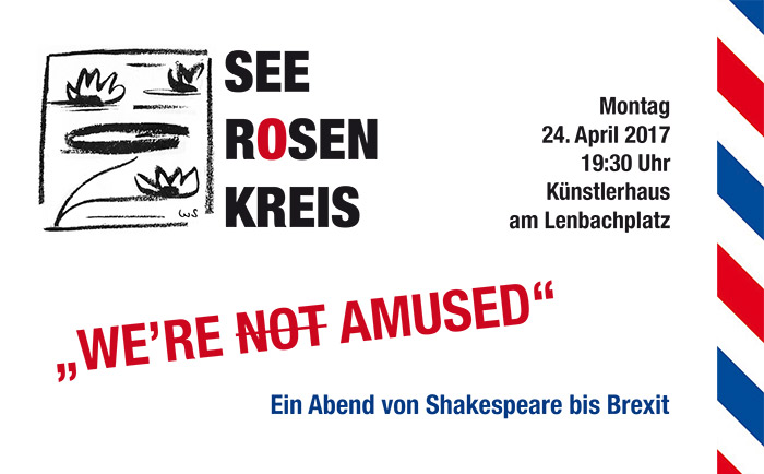 "Seerosenkreis der Literaten: ""We're not amused"" – England von Shakespeare bis Brexit"